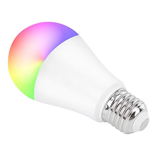 Remote Control LED Lamp Voice and Delay Control Safe and Energy‑Saving E26/E27 Light Interface Smart Light Bulb Gift for You or Your Friends
