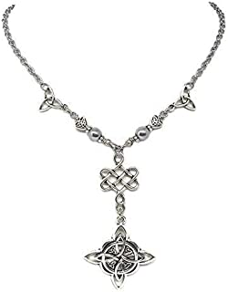 Triquetra Witches Knot Necklace - Celtic, Witch, Wiccan Jewelry