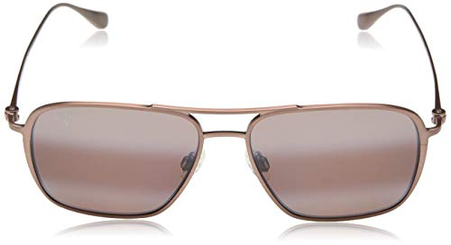 Maui Jim gafas de sol | Beaches R541-19A | Montura marrón rojizo satinado. Lentes polarizadas Maui Rose