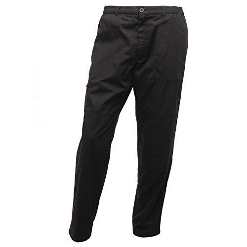 Regatta Pantalon Professionnel résistant à l'eau pour Homme M Noir