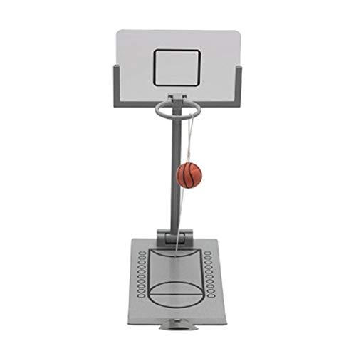 Sport Tischspiele Creative Desktop Miniatur-Basketball-Spiel-Spielzeug, Basketball-Spiel-Spielzeug Mini Tisch Bewegliche Faltender Basketball-Schießen-Spiel-Set for Kinder