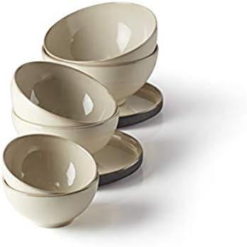 Lenox Luna Nesting White 8 Piece Dinnerware Set