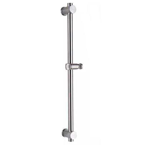 304 Acero inoxidable Barra de ducha extensible con soporte Altura Ajustable 60cm
