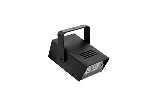 showking Stroboskop Licht/Discoblitzer 230V / 25W, 1-10 Blitze/Sek, mit Netzteil - Stroboskop Effekt für Diskotheken/Clubs