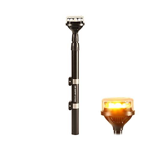 LED-MARTIN Teleskopierbare Rundumleuchte Extend - gelb