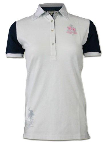 La Martina Damen Designer Polo Shirt - Numero 1 -S