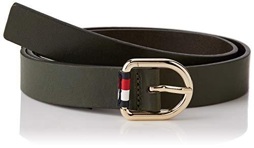 Tommy Hilfiger Corporate Belt 2.5 Cintura, (Green Lfh), 3 (Taglia Produttore: 75.0) Donna