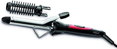 Escova Modeladora Mondial, Infinity Chrome, Bivolt, Preto/Vermelho - EM-06
