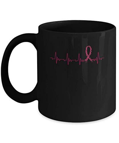 N\A Taza de café del Latido del corazón de la Cinta de Borgoña de la Conciencia del mieloma múltiple