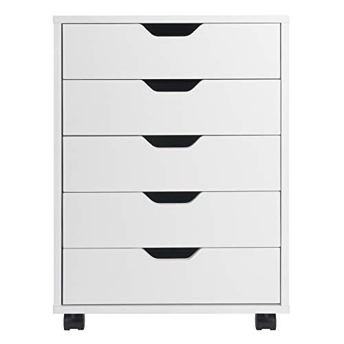 Winsome Halifax Storage/Organization, 5 drawer, White