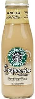 Starbucks Coffee Frappuccino Coffee Drink, Vanilla Flavor, 13.7 fl. oz. (Pack of 6)