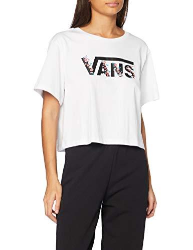 Vans BUNDLEZ Bell tee Camiseta, blanco, M para Mujer