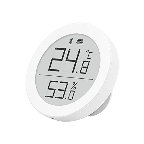 Homidy C9 Bluetooth 5.0 Hygrometer Innen Thermometer Digital, Thermo Hygrometer mit Mihome App für Ios/Andiord, E-Ink Display, Sensirion SHT30 Digitalsensoren für Wohn- und Babyzimmer, Gewächshaus Usw