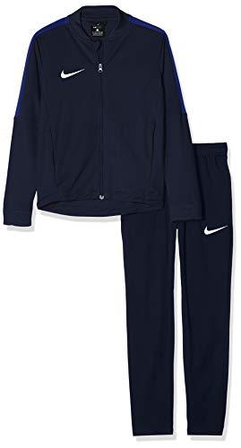 Nike - Academy 16 - Survêtement - Mixte Enfant - Bleu (Obsidian/Obsidian/Deep Royal Blue/White), S (8-9 ans)