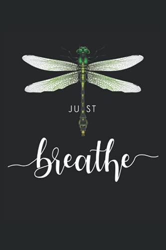 Just dragonfly tattoo motif summer breathe meditation yoga insect: NOTEBOOK - Funny Dragonfly Spring Tattoo Gift, Gift Idea - A5 (6x9) - 120 Pages - ... Birthday, Funny, Sweet, Cute, Line Art