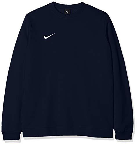 Nike Herren Club19 Sweatshirt, Obsidian/White, L