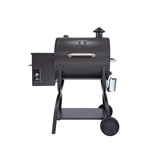 Z GRILLS ZPG-550A 2020 New Model Wood Pellet Grill & Smoker 6 in 1 BBQ Grill Auto Temperature Control, 590 sq in Black