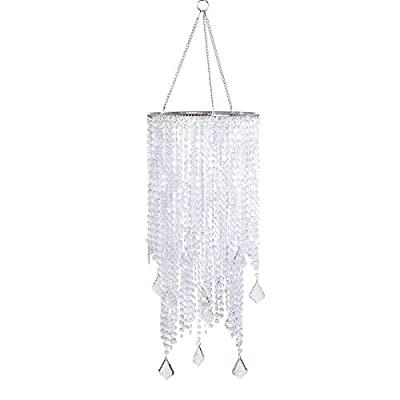 FlavorThings Beaded Hanging Chandelier