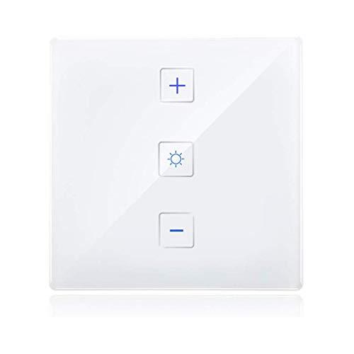 230V Intelligente ZigBee 3.0-wandlamp, dimmer, compatibel met Echo Plus en ZigBee Hub/Bridge