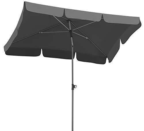 Schneider Schirme Sonnenschirm Locarno 718-15, Anthrazit, 180 x 120 cm Ø, Rechteckig
