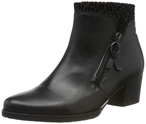 Gabor Shoes Damen Comfort Sport Stiefeletten, Schwarz (Schwarz/Grau (Mic) 67), 38 EU