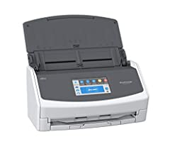 Double-sided scanning with advanced paper feeding system. Scan your documents, business cards, receipts, and photos. Power Requirement: AC 100 to 240 V, 50/60 Hz Large, easy to use 4.3 inch touch screen allows you to easily scan to your preferred des...
