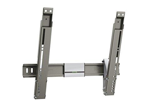 Vogel\'s THIN 215 TV-Wandhalterung für 66-140 cm (26-55 Zoll) Fernseher, neigbar, max. 18 kg, Vesa max. 400 x 400, grau