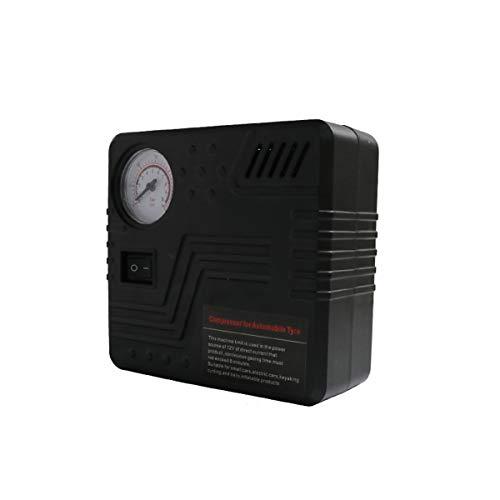 C-FUNN 12V Portable Mini Coche Auto Aire Compresor Eléctrico Rueda Inflador De...