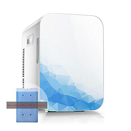 FrigoríFico PequeñO, Refrigerador de 10 Litros/PortáTil de 12 V / 220 V para AutomóViles Hogares Oficinas y Dormitorios (Comprar Refrigerador Liberarse Cristales de Hielo Caja)