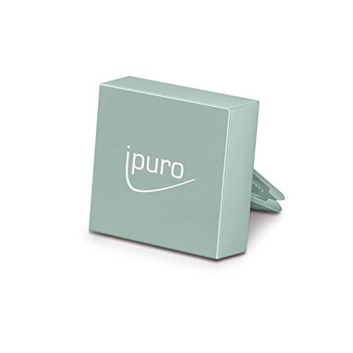 ipuro Autogeur Car Clip (mintgroen) - Hoogwaardige geurdispenser voor uw auto - Eenvoudige montage op het ventilatierooster - Automatische verdeling door de ventilatie