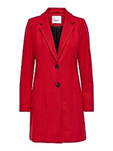 ONLY Female Mantel Klassischer Woll XLMars Red