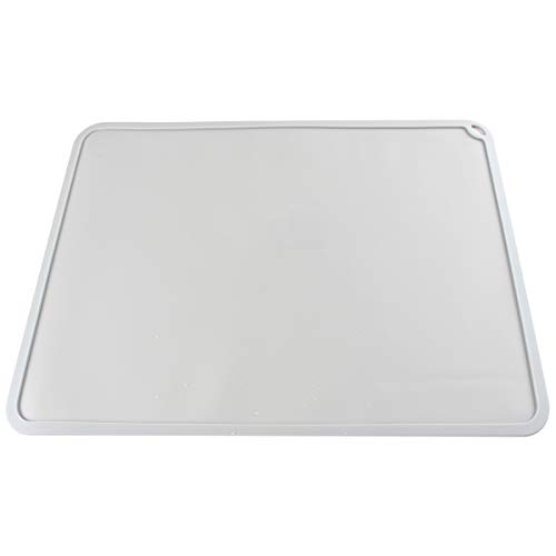 Toaiot DLP SLA LCD Silicone Slap Mat 410 X 310mm/16 x 12 inch Clean Up or Resin Material Transfer to Protect the Work Surfacefor the Photon Eleg Mars Wanhao for 3D Printer Accessories - Gray