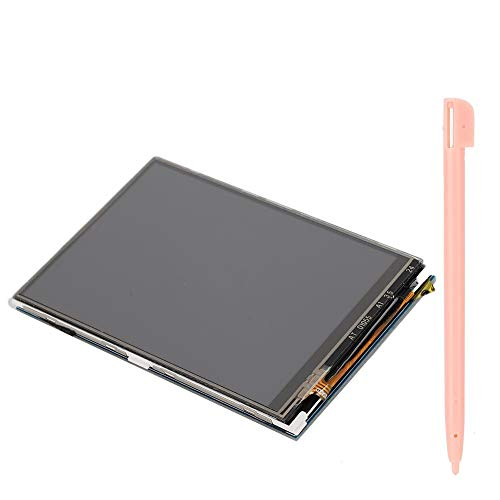 Touch Screen,3.5in 480x320 LCD Touch Screen with Stylus, Resistance Touch Screen Support for Raspbian System,for Raspberry Pi Model 4B/3B