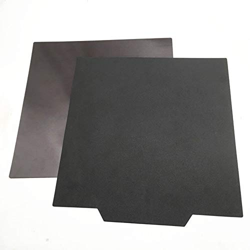Gimax CR-10 S4 S5 3D Printer Upgrade Flexible Magnet Build Surface Plate Heated Bed Parts 400/500mm - (Size: 500x500mm)