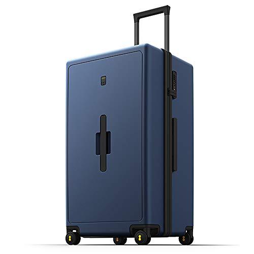 Level8 Traveller PC 28 Premium Koffer/Reisekoffer –Trolley mit Schwenkrollen/Reisetrolley – 44 cm groß (Blau)