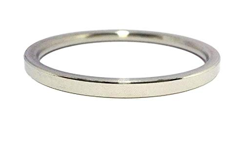 Sunrisegemstone 1 pulsera de acero inoxidable para hombre Kada lisa para hombre, pulsera de Kara para uso diario, regalo metálico para él, padre, marido, hermano, novio