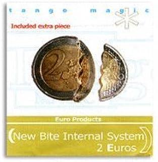 Moneda mordida - 2 € (sistema interno): Amazon.es: Juguetes y juegos