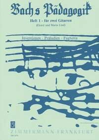 Johann Sebastian Bach-Bachs Pädagogik Heft 1-2 gitaren