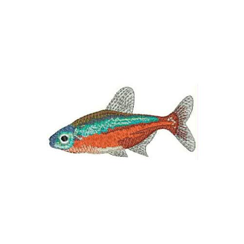 Threadart Machine Embroidery Design Bundles - Animal Sets - Tropical Fish(1) - Loaded On USB Stick - Over 30 Sets Available