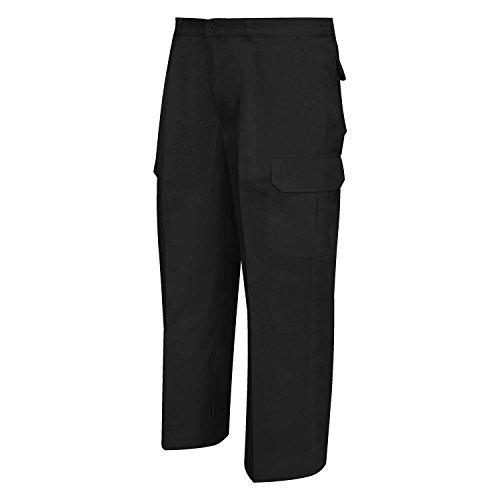 MISEMIYA 872 Pantalón de Trabajo, Negro 1, ((54 : Cintura:98-108cm)) para Hombre