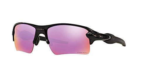 Oakley 009188 Flak 2.0 XL Sunglasses with Accessories Bundle (Polished Black/Prizm Golf (918805)