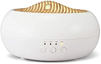 Scentcares Essential Oil Aroma Diffuser, Aromatherapy Diffuser 250ml with Top Real Wood, Ultrasonic Cool Mist Air Humidifier 7 Led and Auto-Off Safety Switch for Home Office Spa Baby Yoga