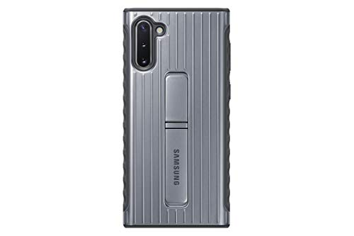 Capa Protetora Protective Standing Prata Galaxy Note 10, Samsung, Capa Protetora Para Celular, Prata