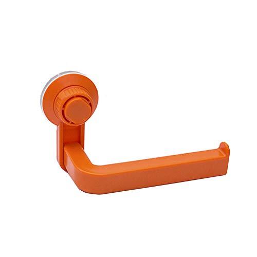 DC CLOUD Klorollenhalter Selbstklebend Klopapierhalter Kein Bohrer Toilettenpapierhalter Toilettenpapierhalter Und Handtuchringset orange