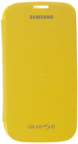 Flip Cover per Samsung Galaxy S3 Yellow