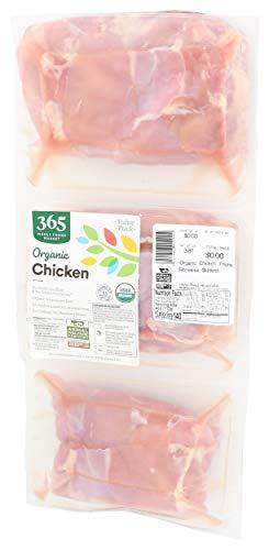 365 Chicken Thigh Boneless Skinless Organic