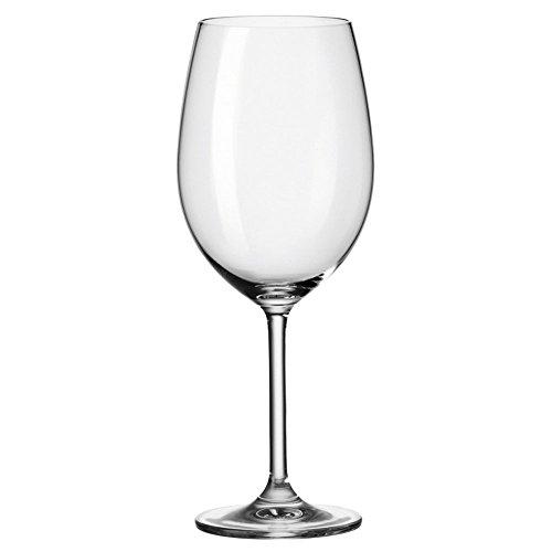 Leonardo 63317 Daily Verres Bordeaux, Verre Vin Rouge, Verre À Vin, Verre, 650 ml