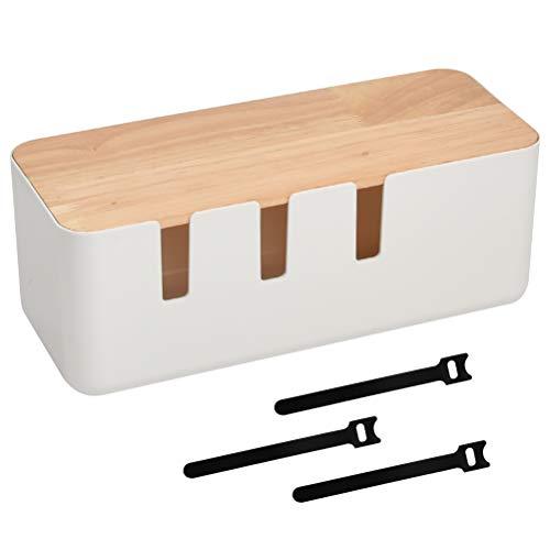 Caja de gestión de Cables (30,2 x 12,5 x 11,5 cm) Caja...