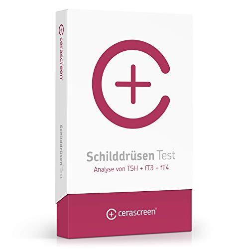 Schilddrüsen Test von CERASCREEN – Messung der Schilddrüsenhormone | Hormontest auf Schilddrüsenstörung | Zertifiziertes Labor | Detaillierter Ergebnisbericht