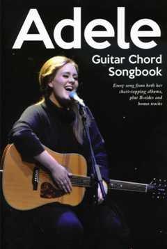 GUITAR CHORD SONGBOOK - arrangiert für Gitarre - Akkorde [Noten / Sheetmusic] Komponist: Adele